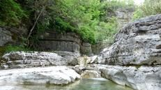 Ovires natural pools, Megalo Papigo - these idyllic, adjoining plunge-pools and cool, natural jacuzzis have been carved out of the riverbed over the centuries by the Rogovo stream.