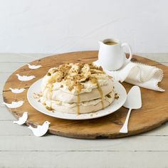 Gingerbread pavlova stack   Thermomix Festive Flavour   Christmas