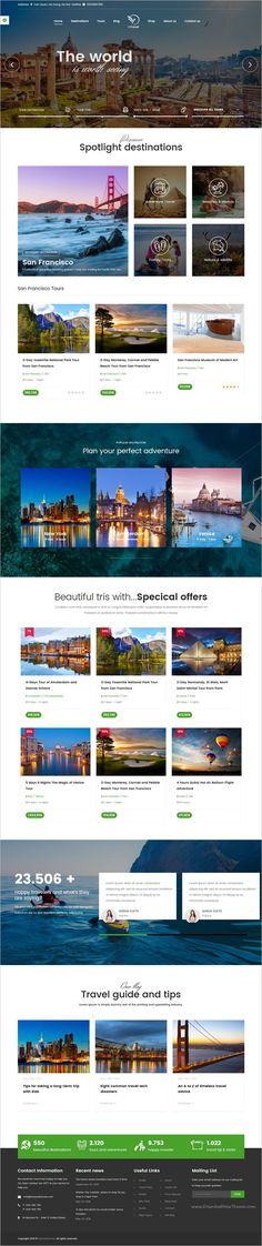 inTravel is a best responsive #WordPress theme for #holiday travel and tour agency booking website with 6 unique homepage layouts download now➩  https://themeforest.net/item/intravel-travel-booking-tour-wordpress-theme/18442233?ref=Datasata