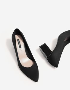 Mid-heel court shoes - JUST IN | Stradivarius Hungary
