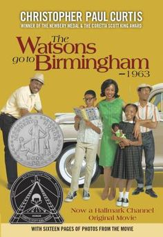 In this historical fiction children's book, we read about a northern family who moves south and finds itself directly affected by the Birmingham bombing.