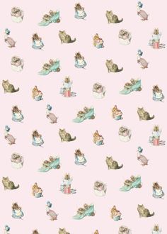 cat pattern | Beatrix Potter Jemima Puddle-Duck -printable