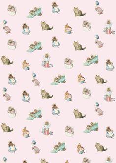 cat pattern | Beatrix Potter Jemima Puddle-Duck -printable