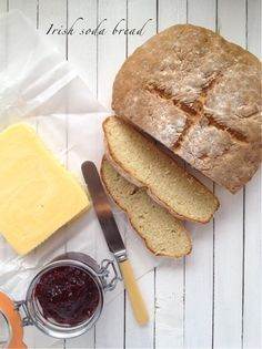 Irish soda bread - don't forget to cross the top to protect it from the fairies!