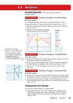 Big Ideas Math: Common Core HS Geometry Student Edition