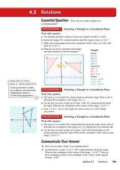 Big Ideas Math: Common Core HS Geometry Student Edition