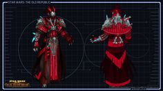 Sith Inquisitor Armor :Star Wars