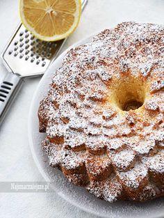 Ciasto cytrynowe, ciasto z cytryną, babka piaskowa, babka cytrynowa, http://najsmaczniejsze.pl #food #ciasto #babka #cake