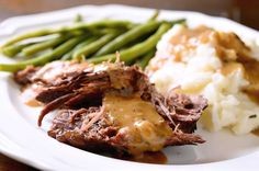 Click for a larger photo of Rosemary Garlic Pot Roast
