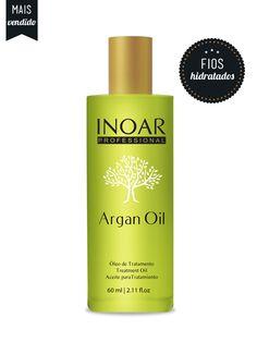 O Inoar Argan Oil é um produto fabuloso com ação regeneradora, que proporciona fios sedosos, macies, maleabilidade e muito brilho. Sua textura forma uma película protetora, deixando as madeixas com aspecto saudável. É excelente para ser usado em todos os tipos de cabelo, principalmente os com processos químicos e cacheado.