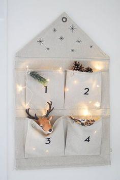 Aftellen tot de kerst Advent, Candle Holders, Candles, Blog, Home Decor, Decoration Home, Room Decor, Porta Velas, Candy