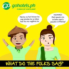 An urban legend in Cebu, Waway is based on an actual person. It is believed that he has a talisman that gives him supernatural powers. One of his abilities, as the story goes, was spitting at the slippers placed outside someone's house. He, then, is able to control the owner of the footwear and kill the person.   #GoHotelsPH #WhatDoTheFolksSay #FilipinoSayings #Waway #Cebu