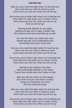 let her go lyrics full - Yahoo Image Search Results Let Her Go Lyrics, Great Song Lyrics, Lyrics And Chords, Song Lyric Quotes, Music Quotes, Music Songs, Love Songs, Passenger Lyrics, Frases