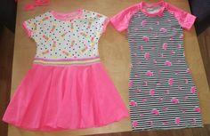 Short Sleeve Dresses, Dresses With Sleeves, Summer Dresses, Girls, Diy, Fashion, Toddler Girls, Moda, Sleeve Dresses