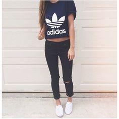 WHERE the heck do people get Adidas tops? Like what???