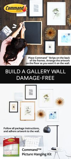 Command strip hooks instead of putting nails in the wall | rooms ...