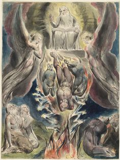 """""""The Fall of Satan"""", by William Blake"""