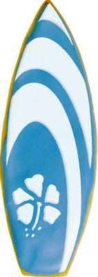 Surfboard Cookie Stencil