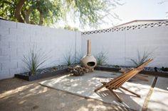 really nice, minimal patio  ***  Jevon's Transformed Condo House Tour | Apartment Therapy