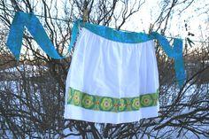 Flour sack towel apron