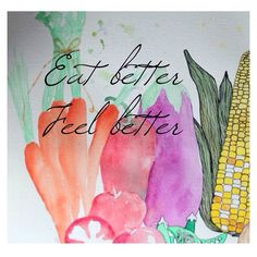 Eat better, feel better.