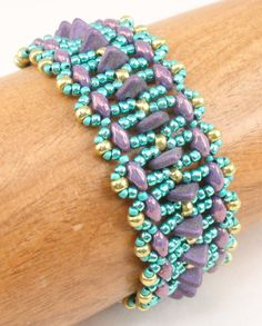 Instructions for Waverly Point Bracelet    Beading Tutorial