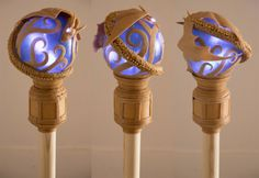 • Worbla Dragon Staff. From KamuiCosplay • Probably gonna try this with craft foam first.