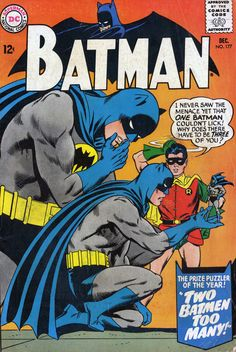 comic+books+covers | Comic Book Covers » Batman #177, December 1965, cover by Carmine...