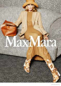 Carolyn Murphy for Max Mara Spring Summer 2015 ad campaign