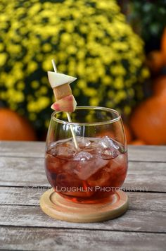 Red Reindeer Punch, originally created for a fall football tailgate party. The flavors reflect the fall season and the colorful red drink was for team spirit.
