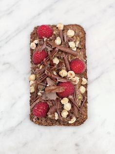 Avocado on rye toast with chocolate   Jamie Oliver
