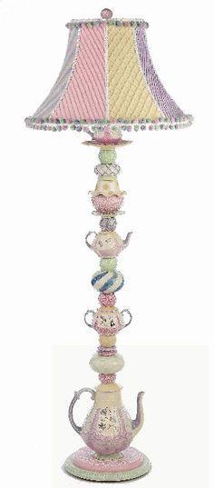 Teapot Floor Lamp