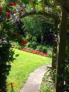 A private garden in Malmesbury