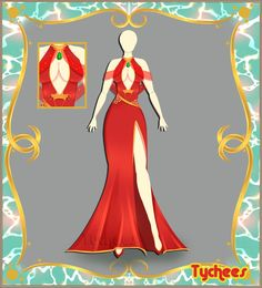 Outfit Adoptable (Auction) #24 CLOSE!!! by Tychees