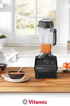 The Vitamix 5200 can help you create every course of a home-cooked meal including  soup, sorbet and pizza dough in a single container.