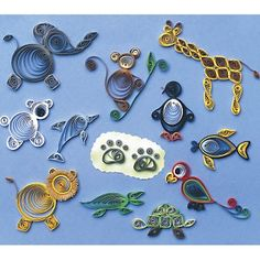 Quilling Animals - quilling Photo omg so doing all these