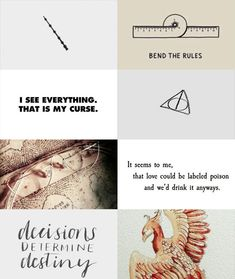 "Albus Dumbledore      ""We must all face the choice between what is right and what is easy."""