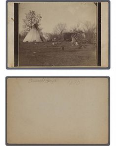 Comanche camp by SMU Central University Libraries, via Flickr
