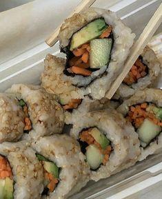 Think Food, I Love Food, Good Food, Yummy Food, Tasty, Sushi, Food Porn, Food Goals, Snacks