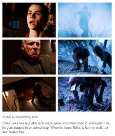 Stisaac au from tumblr. Teen Wolf Stiles/Isaac au during season 2