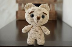 Amigurumi. Osito Kawaii. Crochet. Amigo. Muñeco. por Imarteko #Imarteko #AmigurumiOso Haz clic en la foto para ver más!!! #AmigurumiTeddyBear crochet, #StuffedAnimal Click on the photo to see more !!!