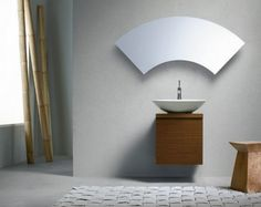 If you enjoy unusual minimalist furnishing then you will simply fall in love with the amazing new Cube collection by F. Modern and elegant, the stylish bathroom mirror designs… Mirror Cabinets, Mirror Wall Decor, Glass Bathroom, Fancy Bathroom, Bathroom Mirror, Minimalist Bathroom, Small Bathroom Mirrors, Bathroom Mirror Cabinet, Bathroom Mirror Design