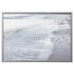 BJÖRKSTA, Gerahmtes Bild, Winterwogen, aluminiumfarben Jetzt bestellen unter: https://moebel.ladendirekt.de/dekoration/bilder-und-rahmen/bilder/?uid=36b35d43-bf46-53ec-9a2a-9d0057e7b907&utm_source=pinterest&utm_medium=pin&utm_campaign=boards #bilder #rahmen #dekoration