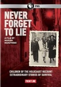 Holocaust survivor Marian Marzynski returns to Poland and the Jewish ghettos of his childhood. But this time, he is not alone. In Never Forget to Lie, Marzynski chronicles the poignant, painful recollections of other child survivors. The film rescues haunting pieces of the past while exploring the conflicting feelings about national, cultural, and religious identity that mark many survivors.(Frontline Series).. 60 min.