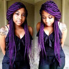 I love her box braids!!!