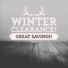 Great deals on winter and spring items. Buy off-season and save!  Other