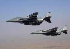 Indian Air Force SEPECAT Jaguar IS (top) & Jaguar IM (bottom)