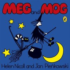 Meg and Mog. I almost forgot how I much I loved Meg and Mog books. My gosh. 90s Childhood, My Childhood Memories, Sweet Memories, This Is A Book, 90s Kids, Kids Toys, Kool Kids, Baby Toys, Children's Book Illustration