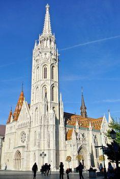 Budapest-Mátyás-templom