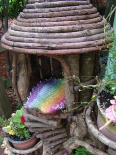 fairy home this one would look really good our of clay!